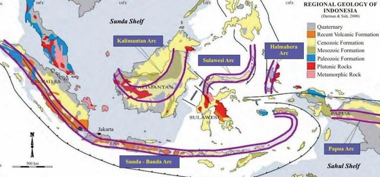 Letak Geologis Indonesia