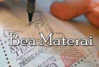 √Bea Materai : Pengertian, Fungsi, Objek, Subjek dan Tarifnya