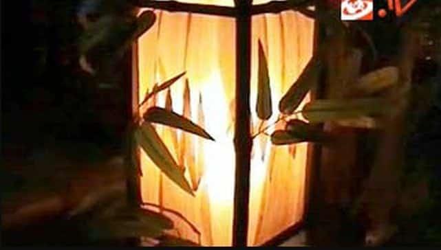 Hiasan-Lampu-Dari-Kulit-Jagung