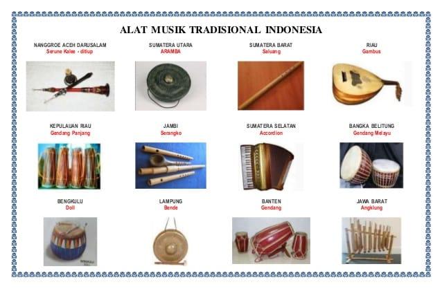 Alat Musik Tradisional Indonesia: Cara Memainkan Dan Asalnya