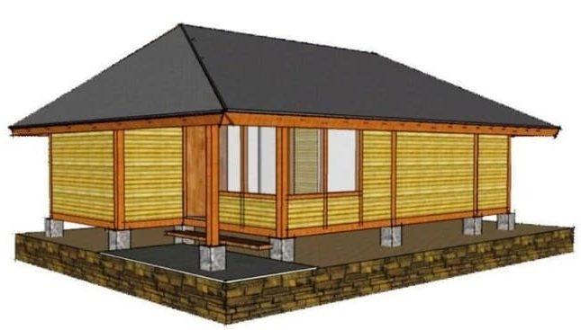Rumah Tradisional Parahu Kumureb